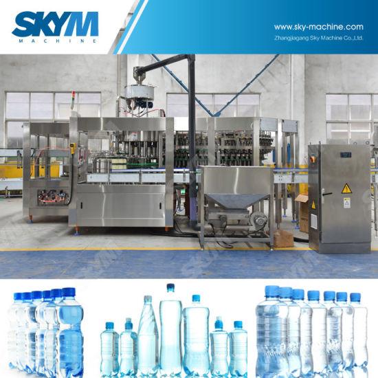 1000bph Samll Speed Pet Bottle Filling Machine for Different Beverage
