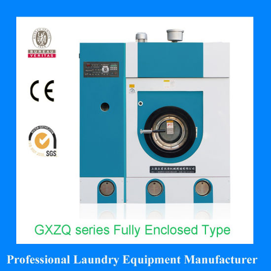 Fully Closed System Fully Automatic Dry Cleaning Machine Slovent Perc. or Hydrocarbon for Laundry Shop Equipment Machines