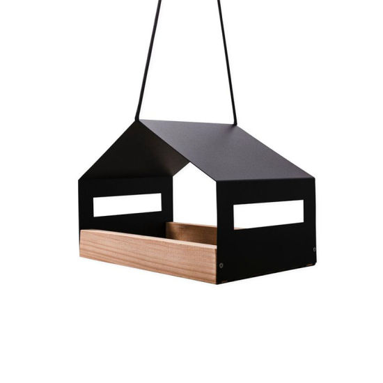 Customized Metal Pet Products Hanging Bird Feeder for Small Birds