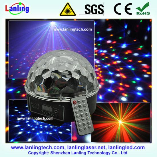 RGB Crystal LED Magic Ball Disco Lights