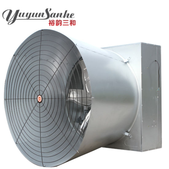 China Poultry House Cone Fans (horn-cone fans) with Shutters - China