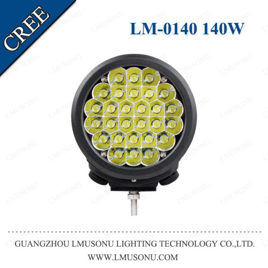7 Inch LED Work Lamp 140W CREE High Power pictures & photos