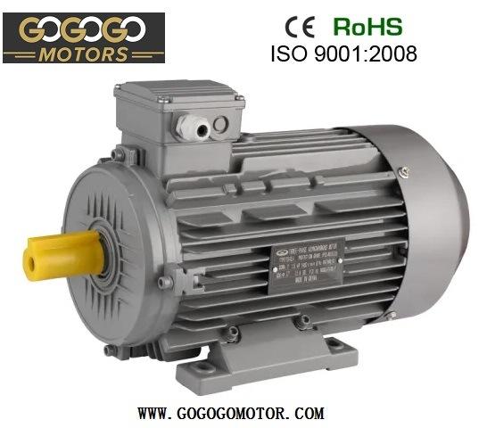 CE 3 Phase Ie1 Ie2 10HP 15HP 20HP 30HP 50HP 75HP 420HP 380V 415V 50Hz 60Hz 2pole 4pole 6pole B3/B5/B35 IP54 High Efficiency Electric Motor (71-355L)