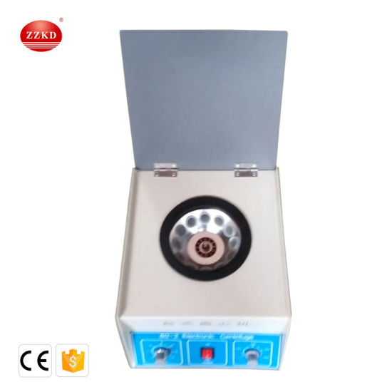 Mini Table Electric Centrifuge Used in Hospital and Laboratory