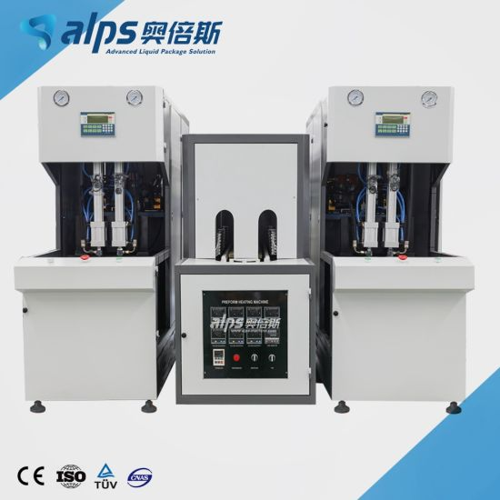 Semi-Auto / Semi-Automatic Pet Blow Molding Machine for Plastic Bottle