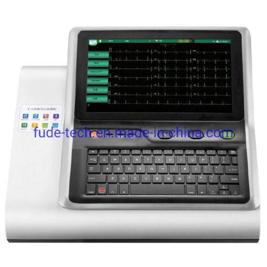18 Lead Digital ECG Machine with LCD Screen