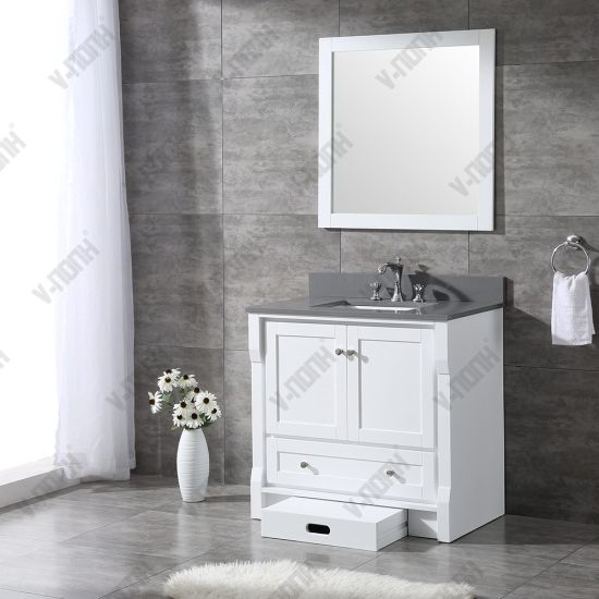 China Affordable Top Quality Bathroom Vanities Cabinets China Large Storage Hangzhou