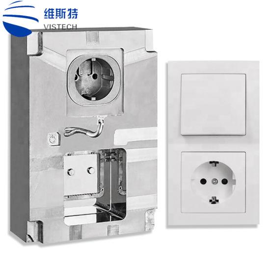 Custom Plastic Electronic Wall Plug Switch Box Injection Mold
