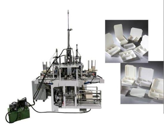 3 Gird Paper Lunch Box Forming Machine
