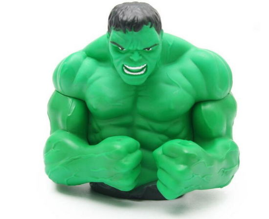 Custom Hulk Coin Bank Money Saving Box as Promotional Gifts