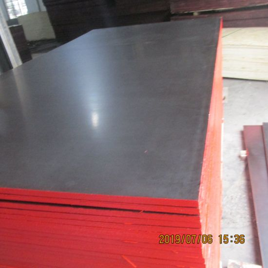 China Factory Poplar Core 1220 X 2440 X 18mm Waterproof Construction Film Faced Plywood China Plywood Film Faced Plywood