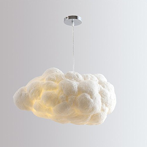 Modern Interior Decorative Chandelier LED Cloud Shape Light Pendant Lighting