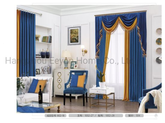 Upholstery Fabric and Curtain Fabric, Home Textile, Jacquard, Wrinkled and Shading Cloth, Yarn Dyed for Sofa, Curtain, Furniture, Chair, Chusion, Decoration