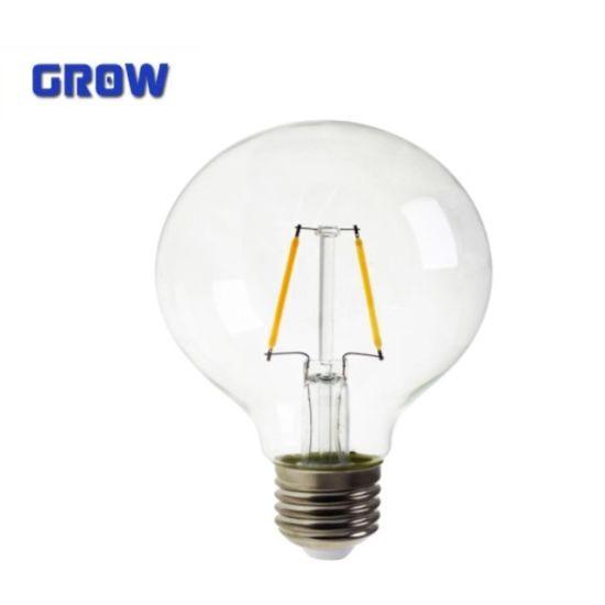 G95 New Energy Saving 4W/6W/8W Decorative LED Global Filament Lamp
