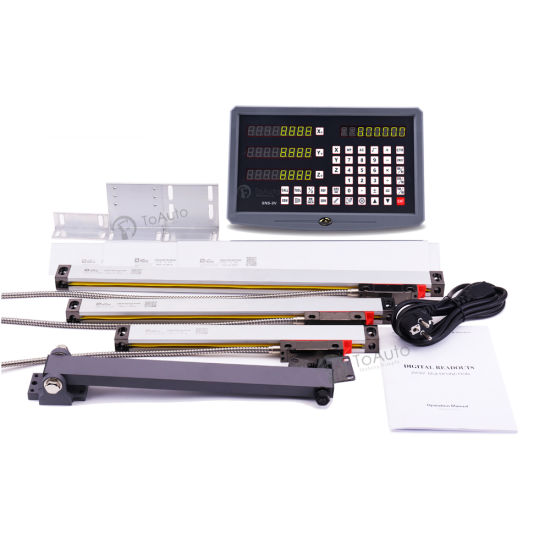 2 Axis//3 Axis Digital Readout DRO Display Linear Scale CNC Milling Lathe Encoder