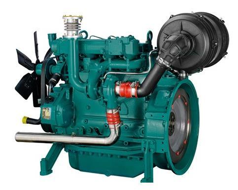 Weichai 4 Cylinder Water Cooled Diesel Engine for Generator (WP4D118E201) pictures & photos