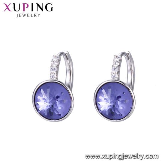 Wholesale Crystals From Swarovski Elements Jewelry China Charming Gemstone  Beautiful Women Drop Earrings