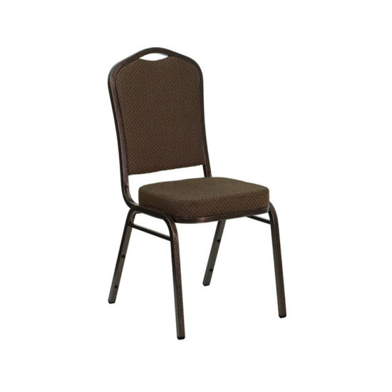 Rental Stacking 2.0mm Aluminum Banquet Chair for Hotel Furniture