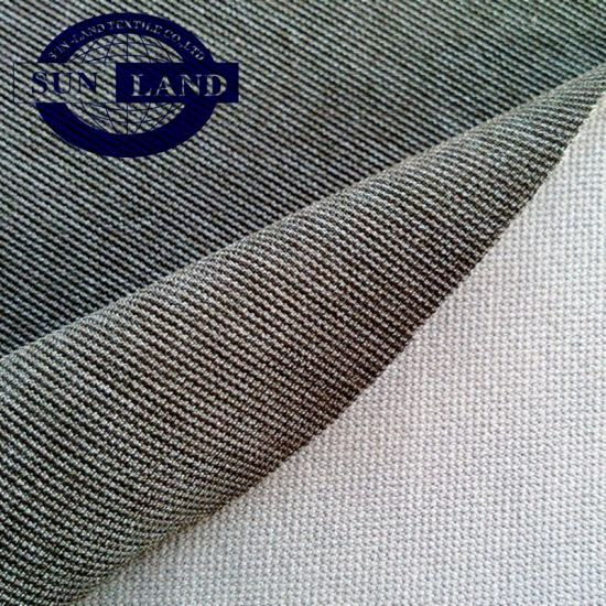 Yarn Dyed Polyester Spandex Strech Fabric for Spring Lady Garment Coat Dress Harem Pants pictures & photos