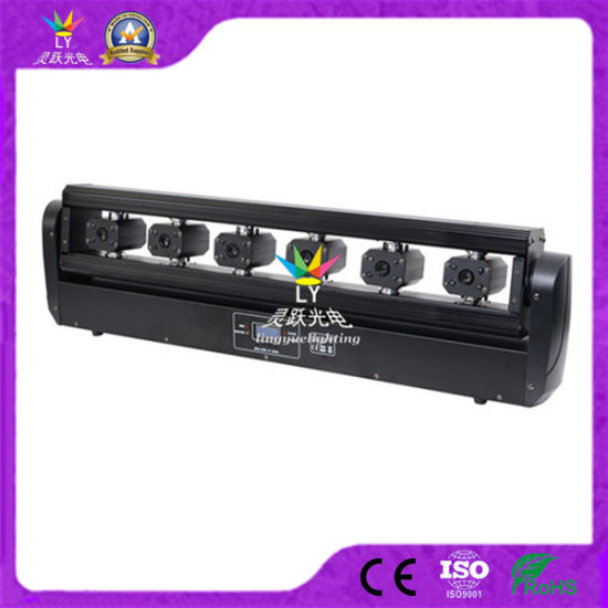 Ce RoHS 6 Eyes DJ Disco DMX Stage Party Scanning RGB Laser Light