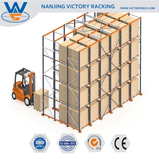 Hot Sale High Quality Warehouse Storage Drive in Racking System pictures & photos