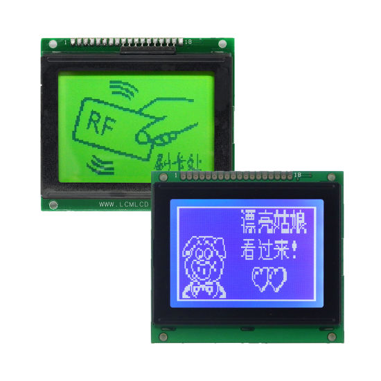 China 12864 LCD Display Controller Ks0107 18 Pin 3 3V/5V Stn Nice