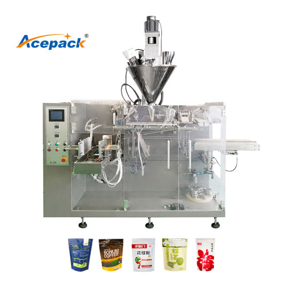 Premade Doypack Zipper Pouch Filling and Sealing Machine