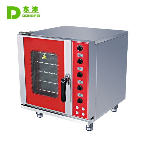 High Quality Bakery Equipment Baking Machine Multi-Functional Electric 5 Trays Combi Oven pictures & photos