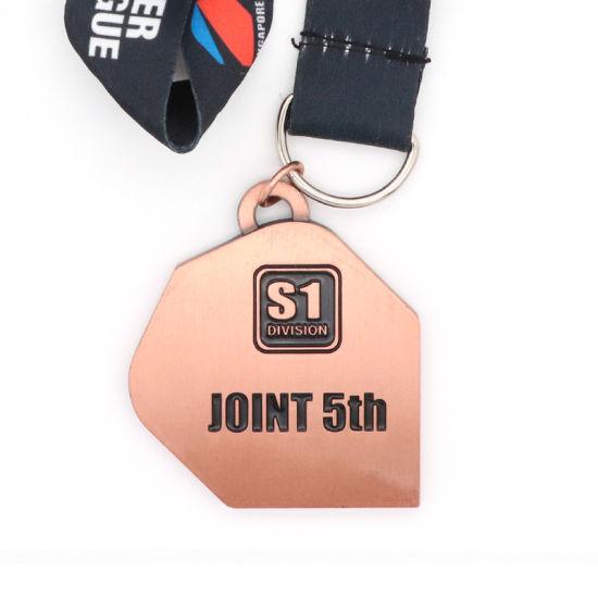 Wholesale Zinc Alloy Metal Sport Gold Silver Custom Sublimation Blank Medal