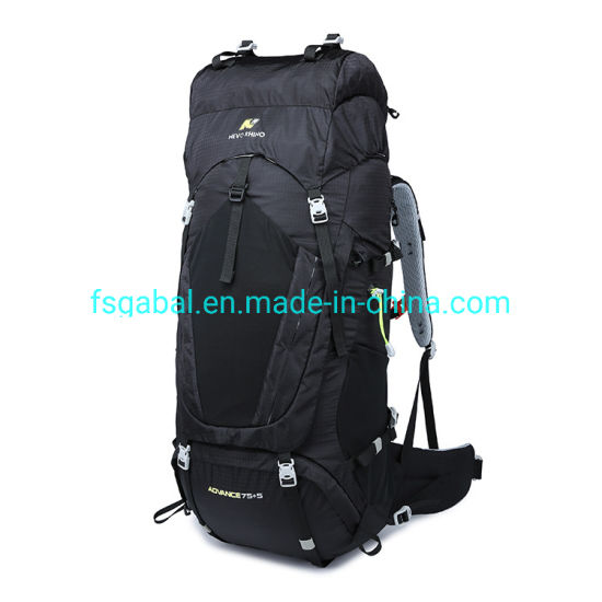 2019 80L Outdoor Waterproof Hiking Gear Travel Sports Camping Backpack