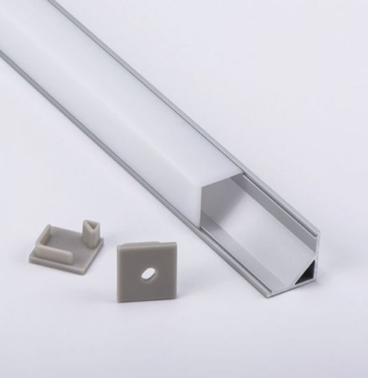 China Led Light Plastic Channel Cover