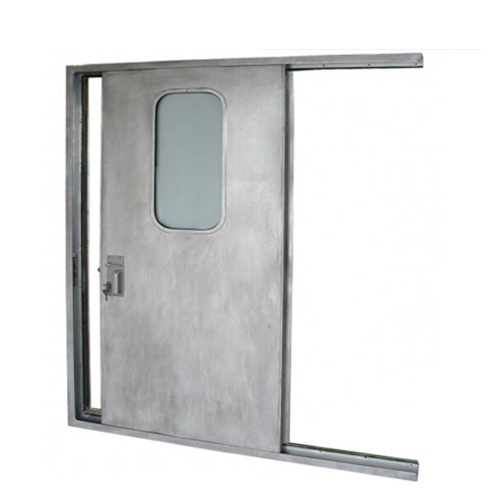 China Double Leaf Automatic Fire Door Marine Air Steel