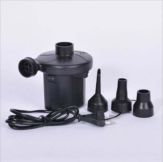 Factory Supply High Volume Portable Air Mattress Pump pictures & photos