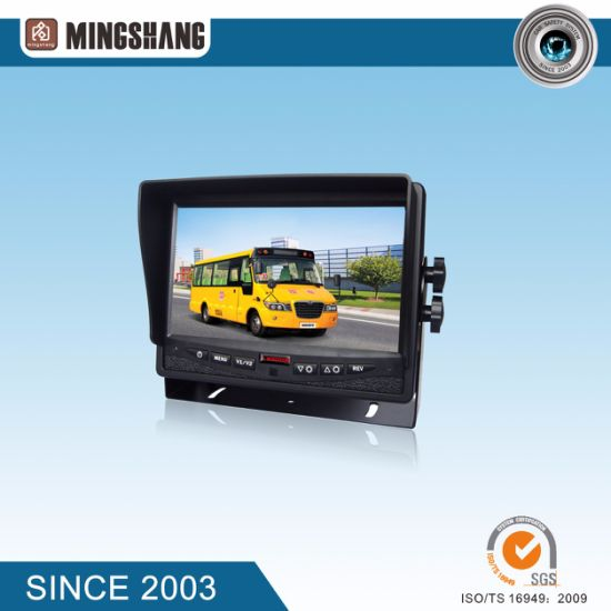 "IP69K Wireless Rear View Camera with Split 7"" Car Monitor pictures & photos"