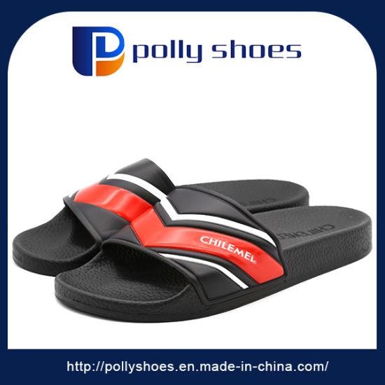 91004cddc9ad OEM Customize Popular in Euro 2017 Slide Slipper Men Footwear pictures    photos