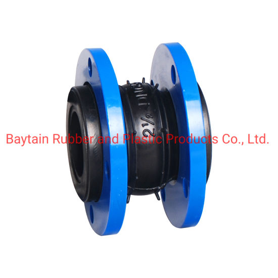 Rubber Joint Single Double-Sphere Ball Flanged End Rubber Flexible Expansion Joint