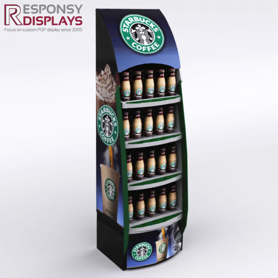 Greatest China Pop up Shop Organic Coffee Machine Tea Bags Display Racks  PU17