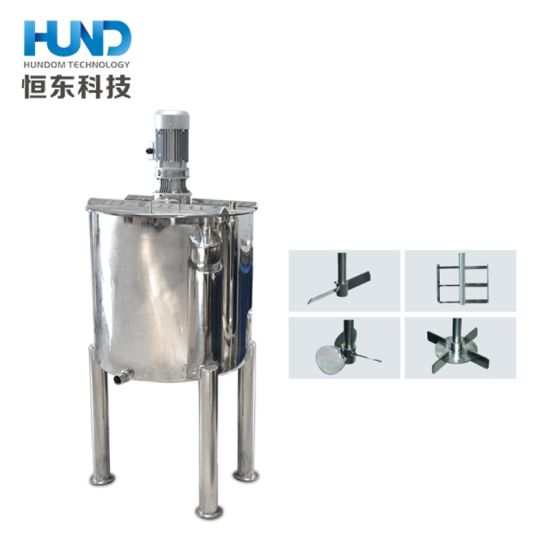 Stainless Steel Pharmaceutical Mixer Chemical, Dairy, Juice Mixing Tank