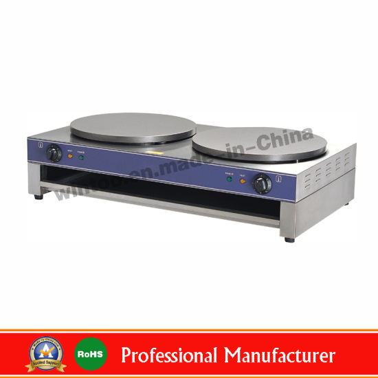 Wholesale Kitchen and Home Equipment Stainless Steel Single Electric Non Stick Pancake Maker