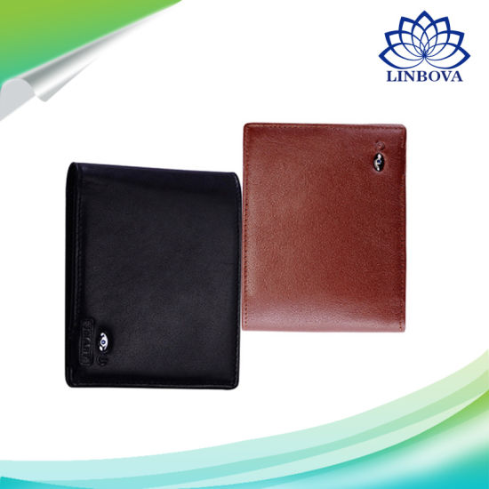 Men Leather Genuine High Quality Anti Lost Intelligent Bluetooth Purse Smart Wallet pictures & photos