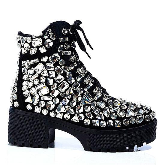 China Wholesale Women Shoes Rhinestone