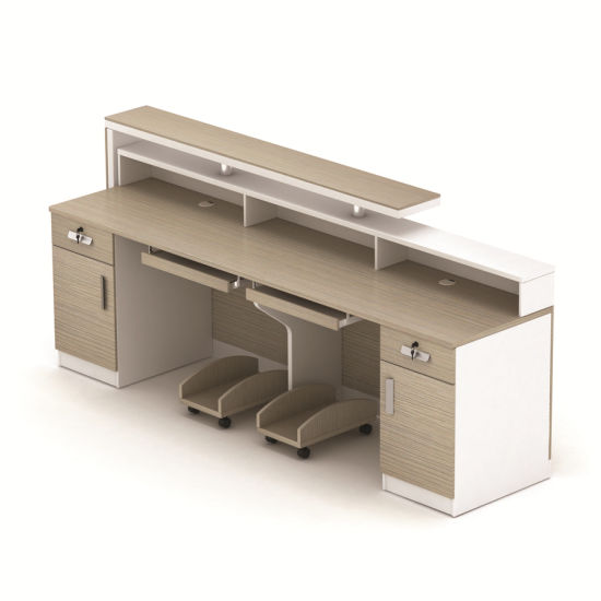 China Modern Design Counter Reception Desk For Office Use China - Table for office use