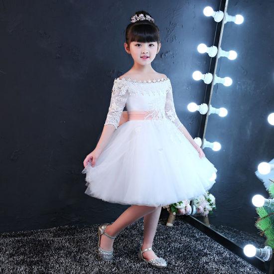 Original Long Sleeve Girl Dress Designs Clothes