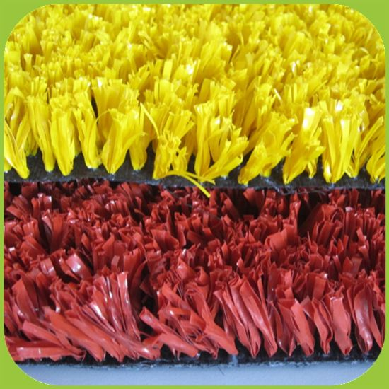 Anti-UV 6/5000 School Playground Synthetic Artificial Grass for Hockey Field