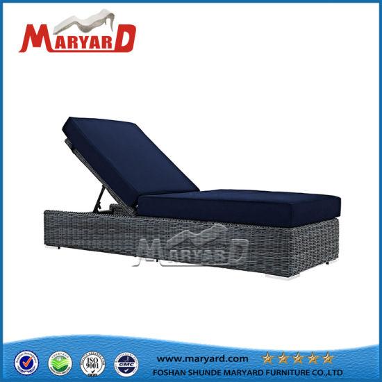 China Patio Furniture Modern Design Waterproof Cushion Wicker