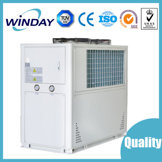 Air Cooled Modular Water Chiller Industrial Axial Fan HVAC Duct Fan Air Conditioning Industrial Refrigeration Equipment Solar Air Conditioner
