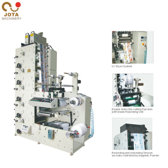 Adhesive Label Printing Machine Flexo Printer