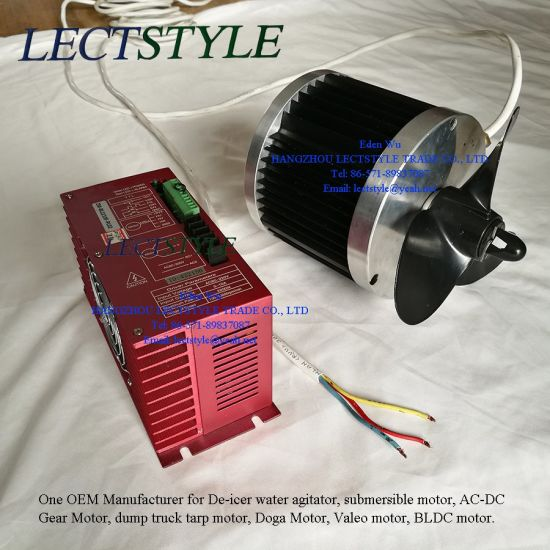 China 120V 1/2HP 3/4HP BLDC Electrical Submersible Motor on De-Icer ...