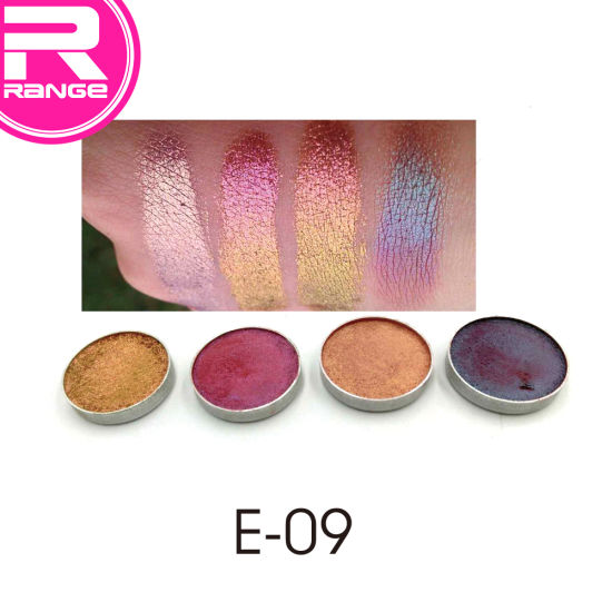 Poplular Eyeshadow Holographic Color Eyeshadow Iridescent Color Makeup Eyesahdow Private Label Cosmetic pictures & photos