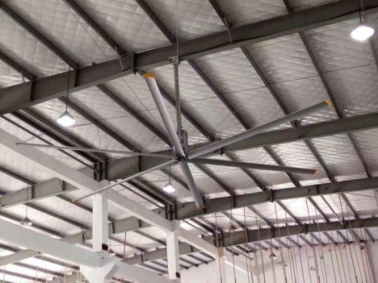 China workshop 73m ceiling mount bracket large hvls industrial roof workshop 73m ceiling mount bracket large hvls industrial roof exhaust ventilation fan aloadofball Image collections